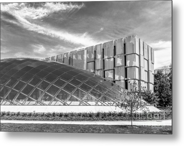 University Of Chicago Mansueto Library Metal Print