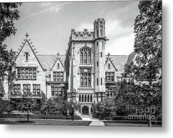 University Of Chicago Ryerson Hall Metal Print