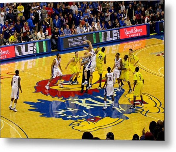 University Of Kansas Cole Aldrich Metal Print