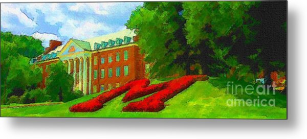 University Of Maryland  Metal Print