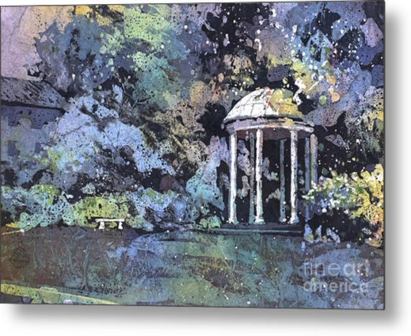 University Of North Carolina Well Metal Print