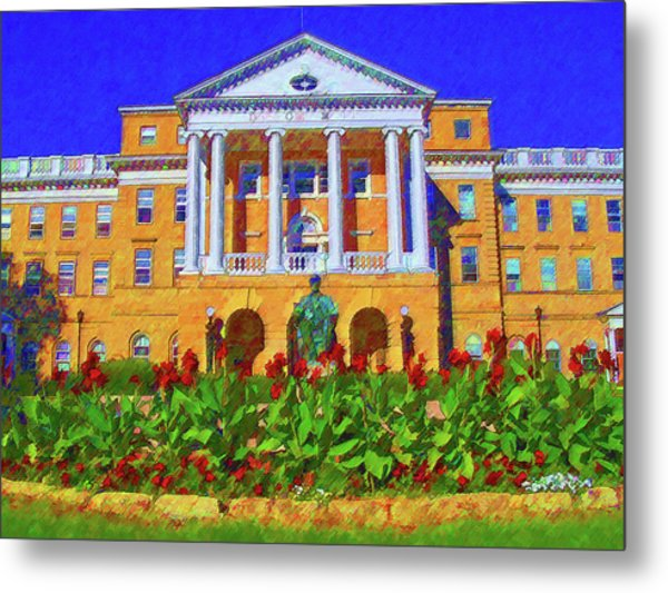 University Of Wisconsin  Metal Print