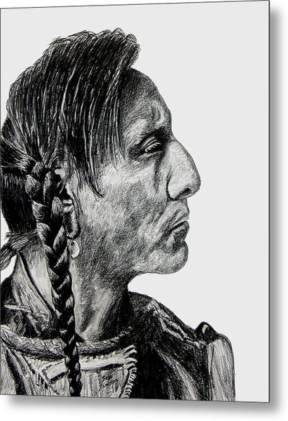 Unknown Indian II Metal Print