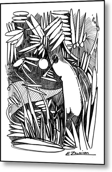 Unknown Landscape Metal Print
