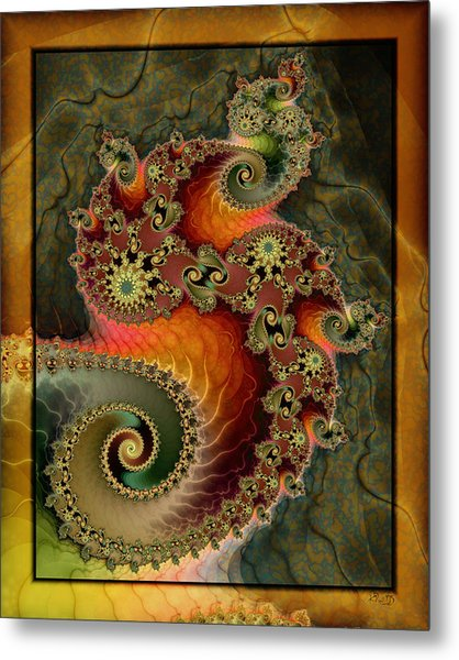 Unleashed Dragon Metal Print