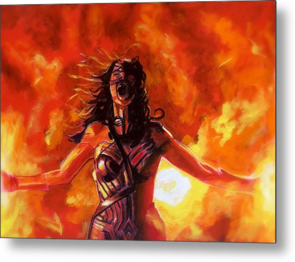 Unleashed Metal Print