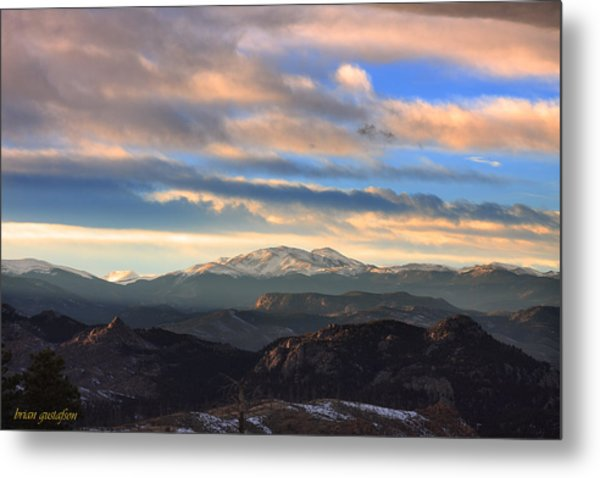 The Unmatched Beauty Of The Colorado Rockies Metal Print