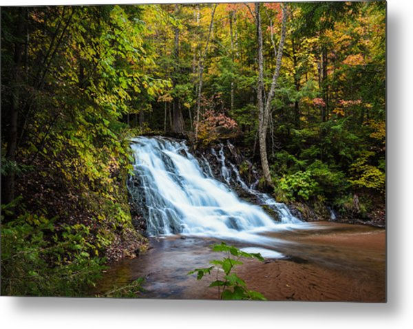 Unnamed Morgan Falls Metal Print
