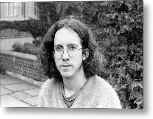 Unshaven Photographer, 1972 Metal Print
