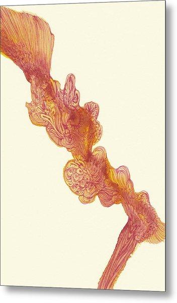Dancer - #ss14dw048 Metal Print by Satomi Sugimoto