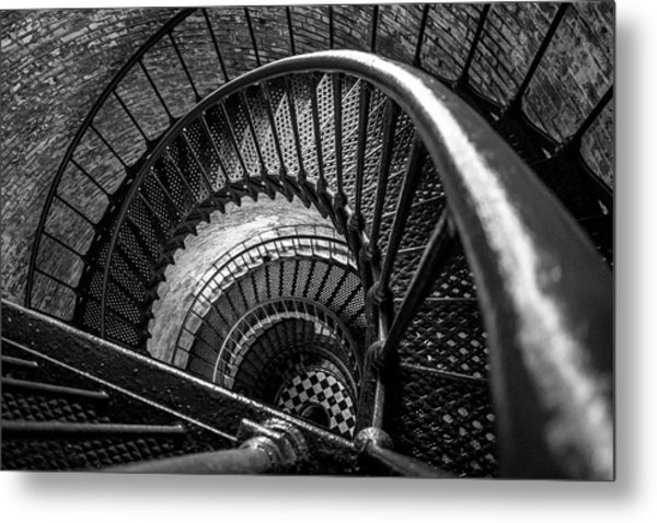 Unwind  - Currituck Lighthouse Metal Print