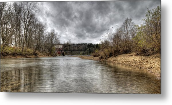 Up The Creek Metal Print