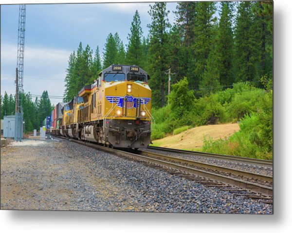 Metal Print featuring the photograph Up5698 by Jim Thompson