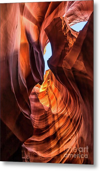 Upper Antelope Canyon Metal Print