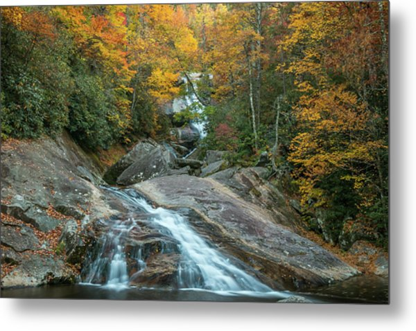 Upper Creek Autumn Paradise Metal Print