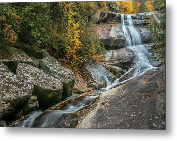 Upper Creek Falls Metal Print