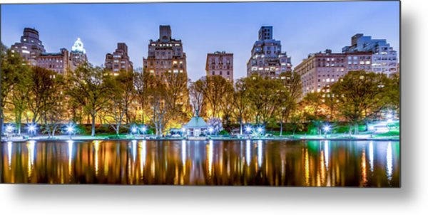 Upper East Side Reflections Metal Print