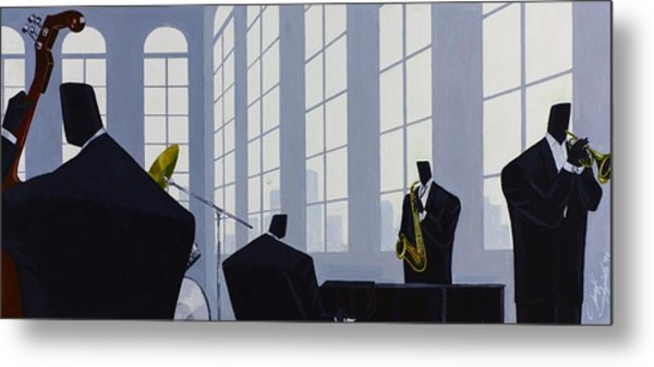 Uptown Hall Recital Metal Print