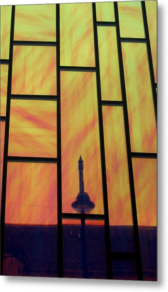 Upwards And Whatever Metal Print by Jez C Self