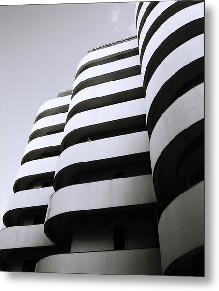 Urban Alienation Metal Print