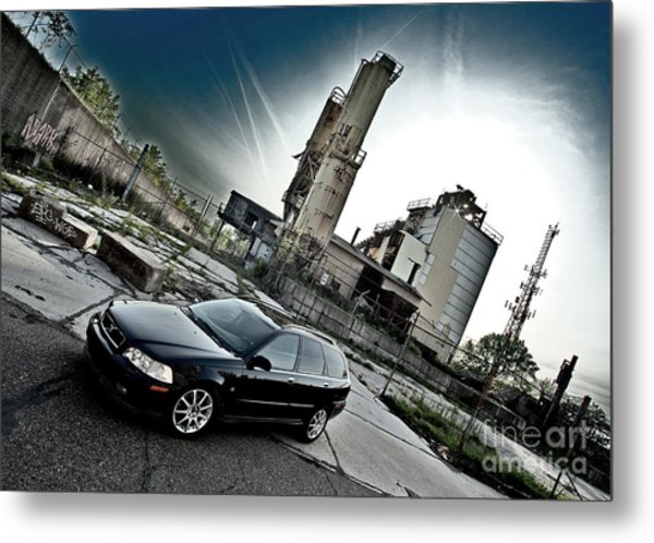 Urban Background Metal Print