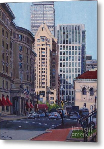 Urban Canyon - Saint James Street, Boston Metal Print