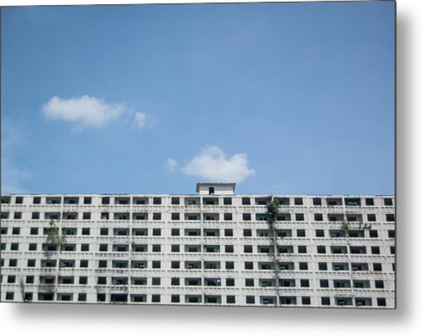 Urban Living Metal Print