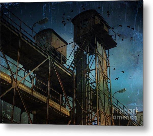 Urban Past Metal Print