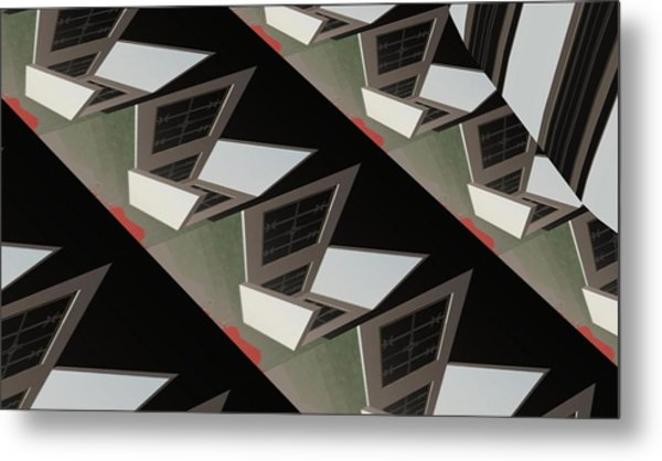 Urban Profile Metal Print by Thomas Smith