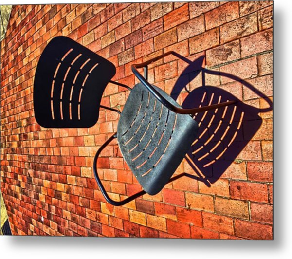 Urban Seating  Metal Print