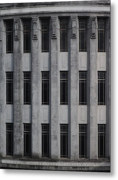 Urban Structure Metal Print