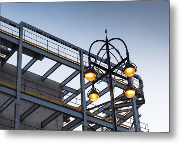Urban Structures Metal Print by Paul Indigo