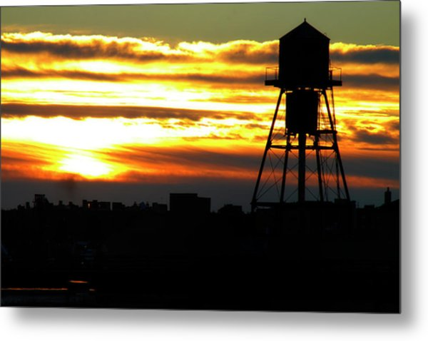 Urban Sunrise Metal Print