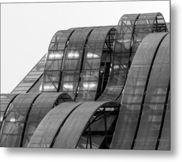 Metal Print featuring the photograph Urban Waves by Rand