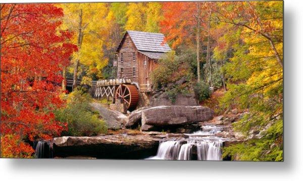 Usa, West Virginia, Glade Creek Grist Metal Print