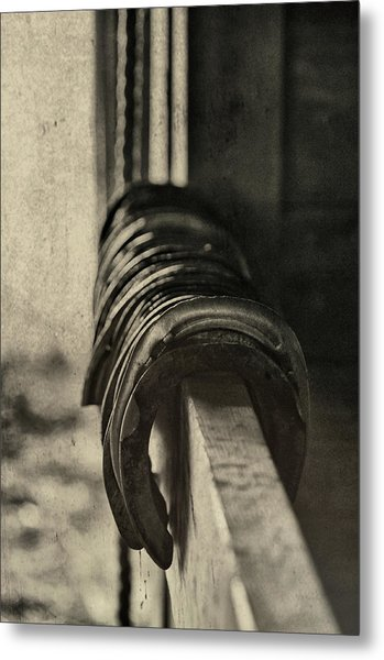 Used Steel Metal Print by JAMART Photography