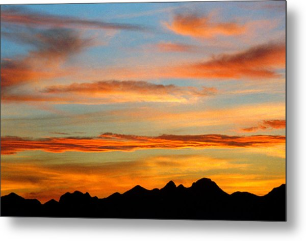 Usery Sunset II Metal Print