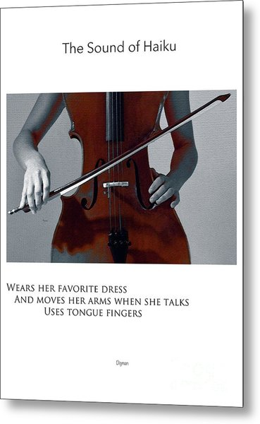 Uses Tongue Fingers  Metal Print by Steven Digman