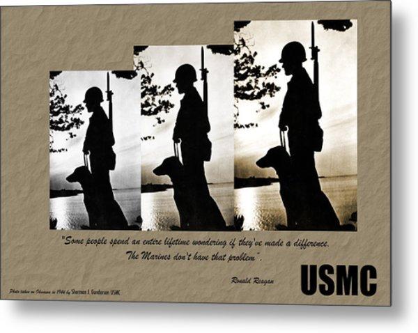 Usmc 1944 Metal Print