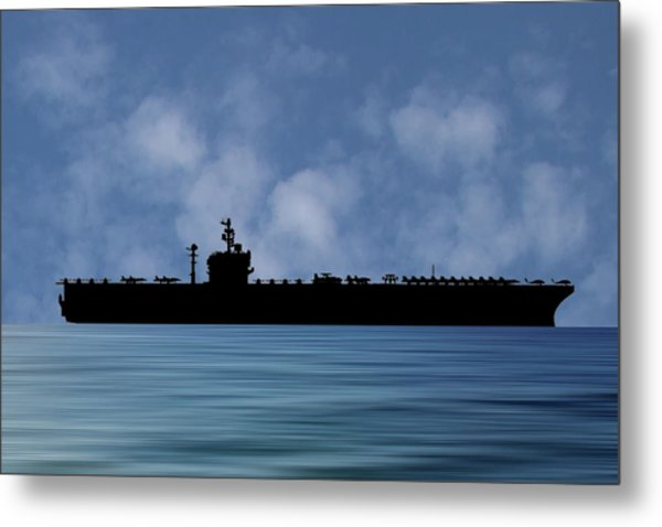 Uss George Washington 1992 V1 Metal Print