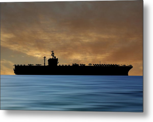 Uss George Washington 1992 V2 Metal Print