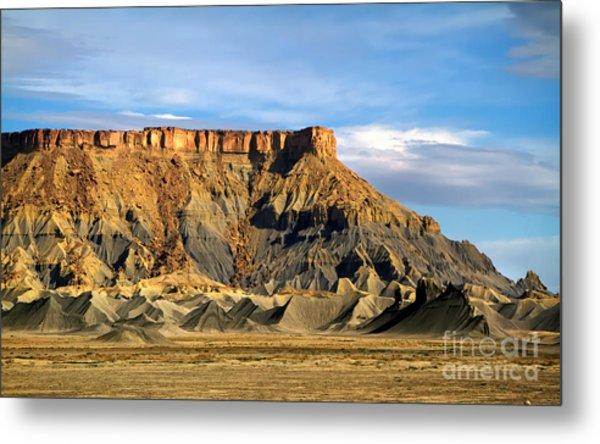 Utah Butte Metal Print