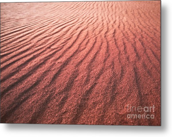 Utah Coral Pink Sand Dunes Metal Print by Ryan Kelly