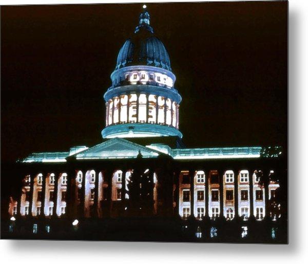 Utah State Capitol Metal Print by Steve Ohlsen