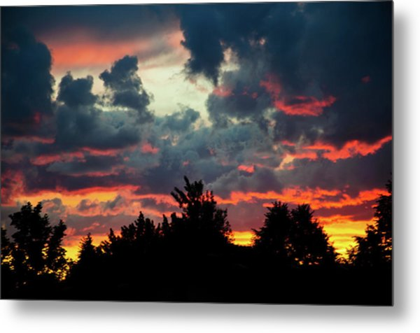 Metal Print featuring the photograph Utah Sunset by Bryan Carter
