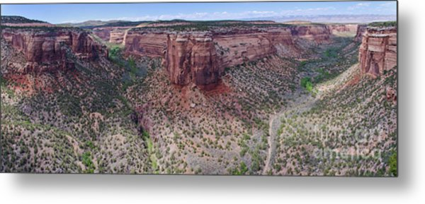 Ute Canyon Metal Print