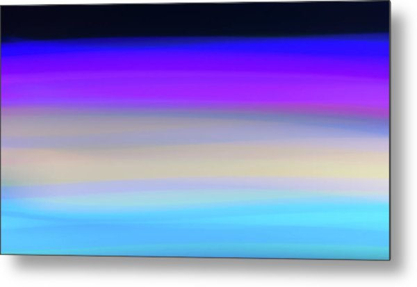 Uv Dawn Metal Print