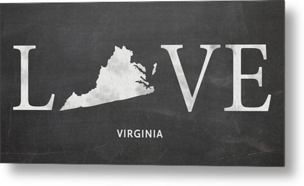 Va Love Metal Print