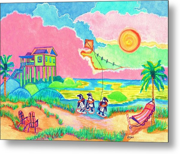 Vacation In The Sun Metal Print