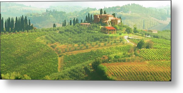 Val D'orcia Jewel Of Tuscany Metal Print